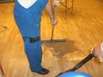 Linoleum Bodenbeläge Grundreinigung
